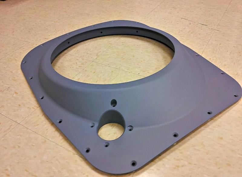 "Closeout Fairing - 7050 T7451 - Aluminum Plate - 24.5"" X 20.5"" X 4"""