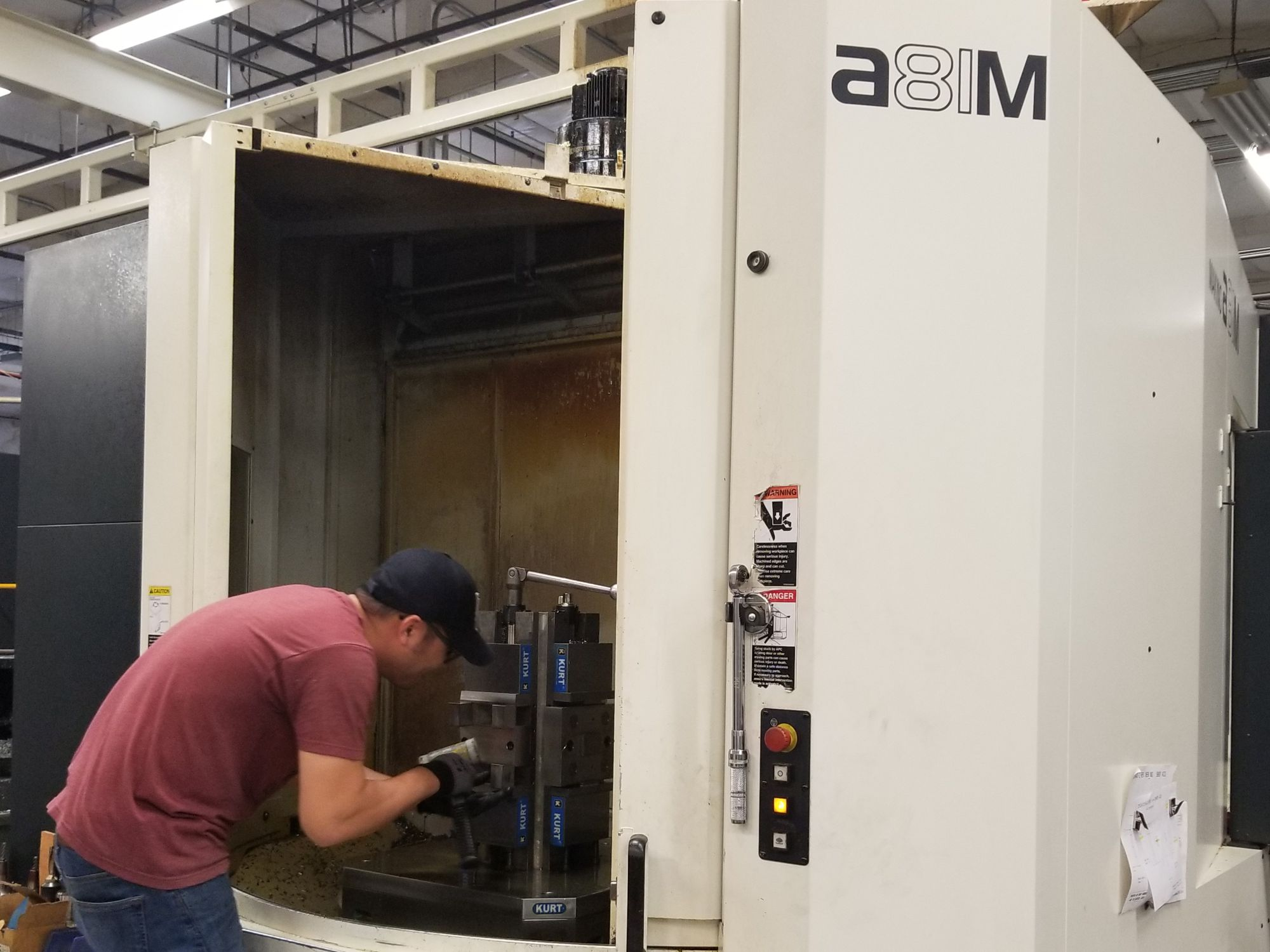 A81 M MAKINO M18 NEW Valley Machine Shop