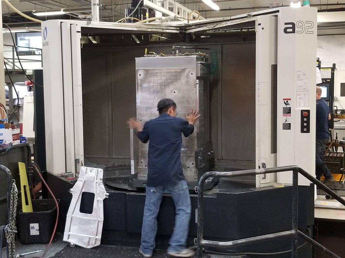 MAKINO-A-92-Valley-Machine-Shop