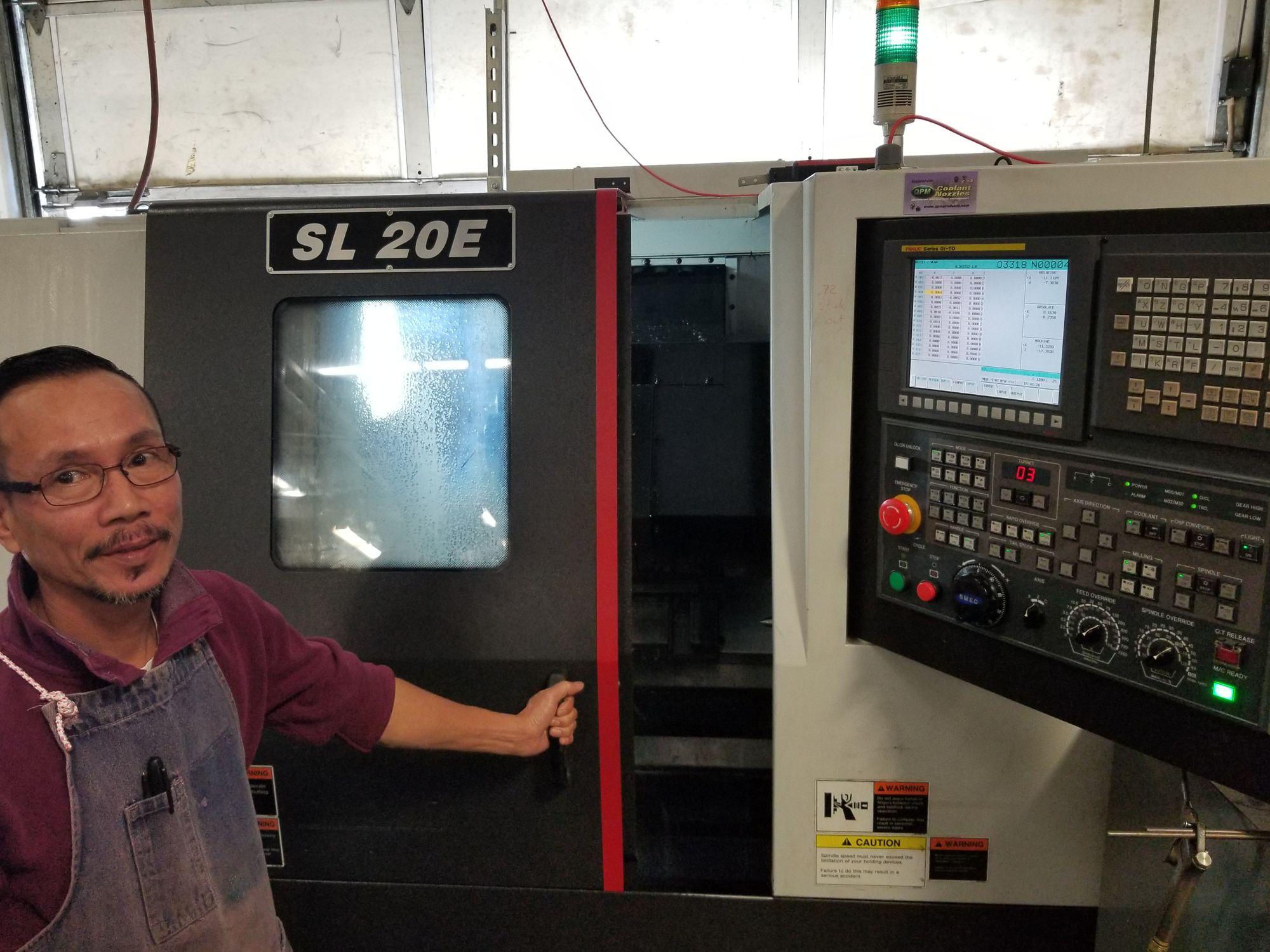 SAMSUNG SL 20E Valley Machine Shop